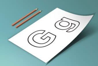 Letras del abecedario para imprimir, grandes y letra por letra
