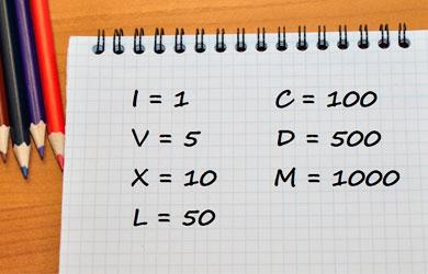 Conversor De Números Romanos En Excel Plantilla Descargable