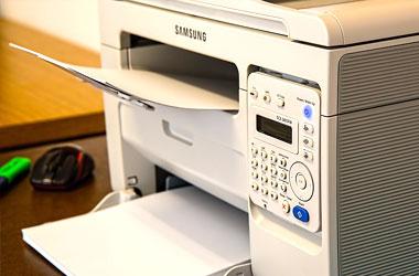 ofimatica eléctronica fax scanner