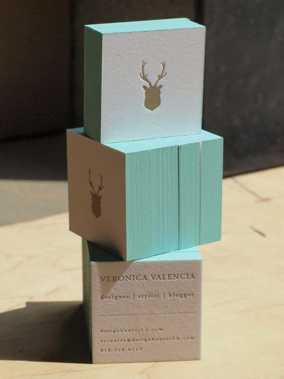 diseño de tarjeta de visita creativa