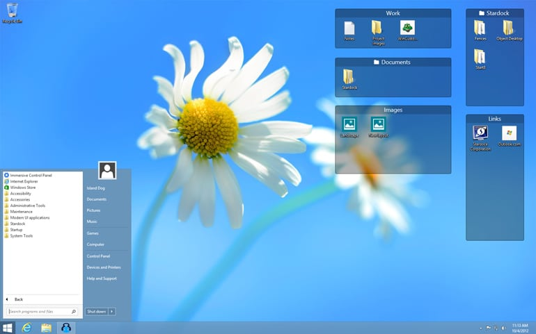 fences organiza iconos escritorio windows