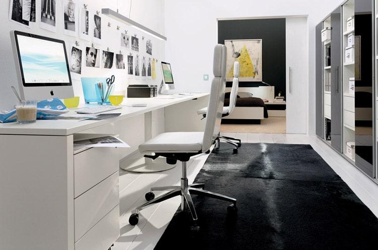 escritorio oficina en el hogar