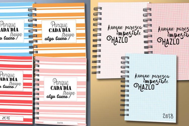 agenda 2018 para imprimir en pdf