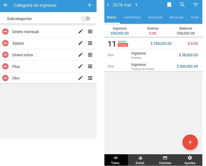 app control de gastos android