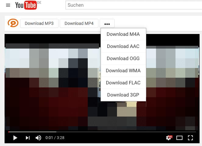 extensión para descargar videos youtube