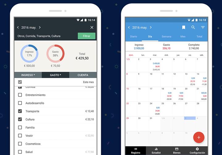 Registro Contable App de contro de gastos