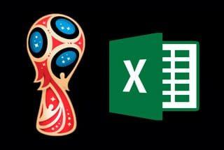 (Actualizado 07/06/18) Rusia 2018: Fixtures en Excel Mundial de la FIFA